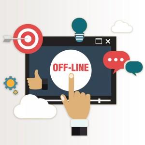 Продвижение в оффлайн режиме
